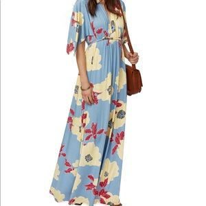 Rachel Pally Long Caftan Maternity Dress Bloom